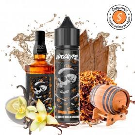 mamba skull es un delicioso tabaquil con vainilla aderezado con bourbon para un vapeo excelente.