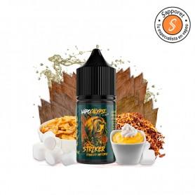 striker tobacco bastard 20ml es uin delicioso tabaquil con natillas de vainilla nubes y cereales. Disfrutalo en tu vapeo diario.