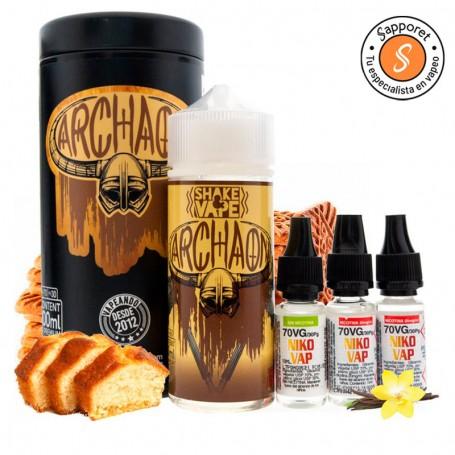 archaon te sorprenderá por su fantástico sabor dulce para disfrutar en tu vapeo diario.