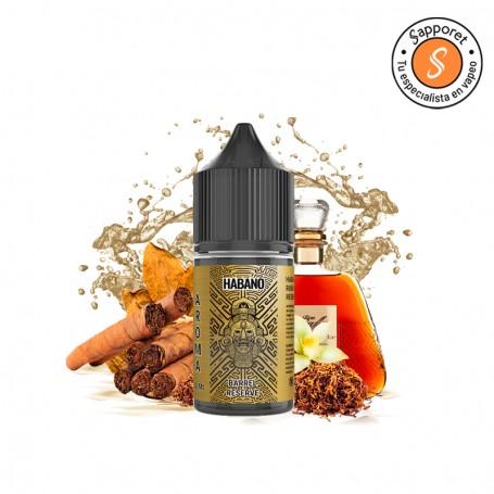 habano barrel reserve 30ml aroma de tabaco con ron y vainilla