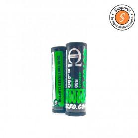resistencia dual core fused clapton 0.28 ohm de Wotofo perfectas para tu vapeo diario