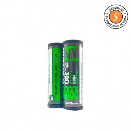 dual core fused clapton de wotofo para tus atomizadores reparables favoritos.