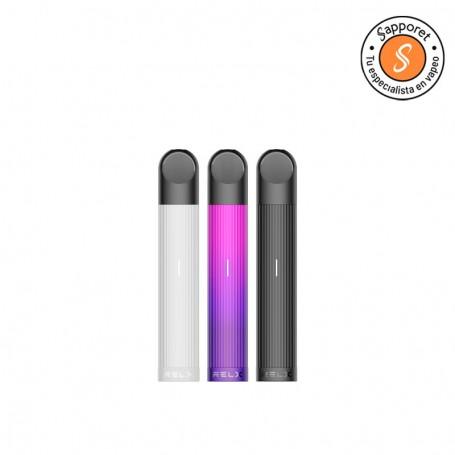 relx essential pod es un kit de inicio perfecto para disfrutar de tu vapeo diario