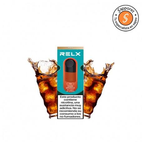 Fantástico refresco de cola para disfrutar en tu kit de inicio de Relx en tu vapeo diario