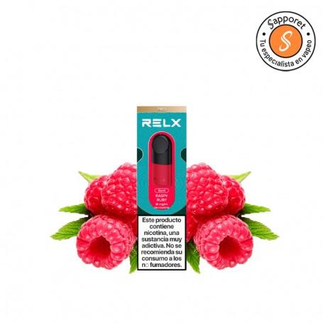 raspy ruby es un fantástico sabor de frambuesa para el Relx pod. Disfruta de la mejor experiencia de vapeo