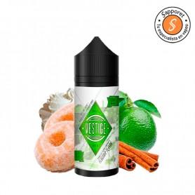 Vestige es un fantástico líquido para vapear dulce de donut con lima y toque de canela para tu vapeo diario