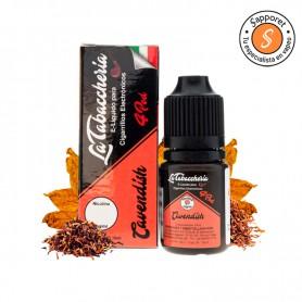 cavendish es un fantástico tabaquil macerado en barrica de ron para un vapeo excelente.