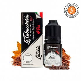 latakia de la tabaccheria es un fantástico tabaquil clásico ideal para disfrutar en tu vapeo diario