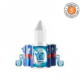 energy 10ml yeti salts es un fantástico líquido con sales de nicotina con sabor a bebida energetica.