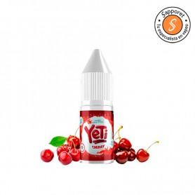 Cherry de Yeti Salts te fascinará por su fantástico sabor a cereza con efecto frío en tu vapeo diario