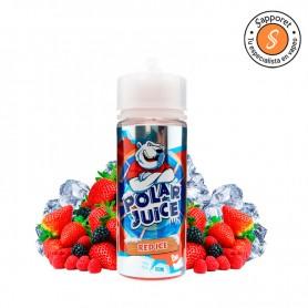 red ice te hará disfrutar de los mejores frutos del bosque con efecto frío en tu vapeo diario de la mano de polar juice