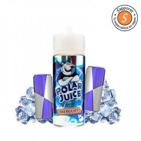 energy ice de polar juice es un fantástico líquido con sabor a bebida energetica, ideal para tu vapeo diario
