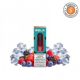 forest gems es el nuevo sabor de Relx, ideal para los amantes de los frutos rojos en cigarrillo electrónico.