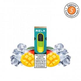 golden slice de relx te encantará por este fantástico sabor a fruta fresca para tu vapeo diario