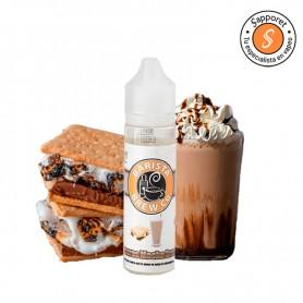 smores mocha breeze 40ml de barista es una fantástica galleta con cafe helado para tu vapeo diario