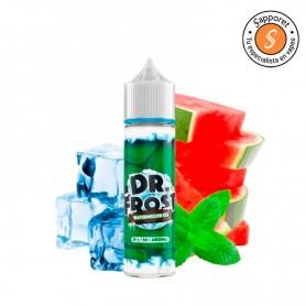 watermelon ice de dr. frost es el eliquid perfecto para disfrutar de una sandía fresca en tu vapeo diario
