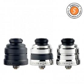 Yachtvape Claymore RDA es un atomizador reparable single coil ideal para disfrutar del mejor sabor de tus líquidos para vapear