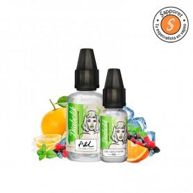 diabolik de A&L les creations es un fantástico aroma frutal de frutos del bosque con naranja y fantástico efecto frío