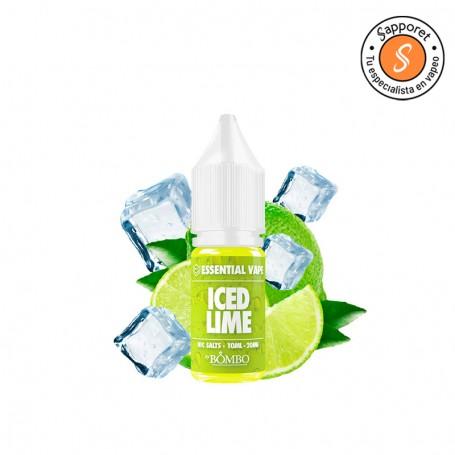 iced lime essential vape Bombo es un fantástico helado de lima para disfrutar en tu pod favorito.