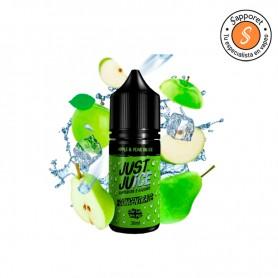 apple pear aroma de just juice es la perfecta combinación de manzana y pera para disfrutar en tu vapeo diario.