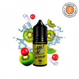 kiwi cranberry on ice de Just Juice es un fantástico aroma frutal ice para disfrutar en tu vapeo diario