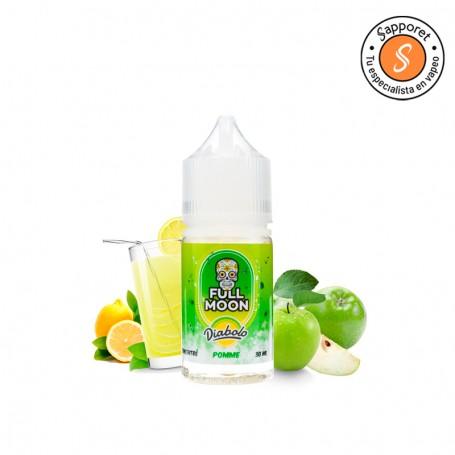 diabolo Pomme es una deliciosa limonada de manzana para disfrutar de tu alquimia de vapeo electrónico.