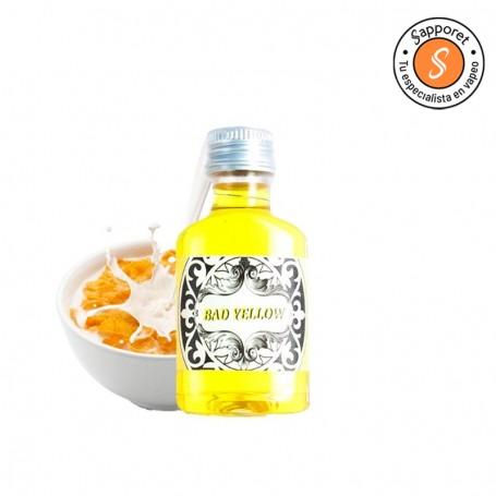 bad Yellow de No bad vap te encantará por su fantástico sabor a cereales con leche. Disfrutalo en tu vapeo diario.