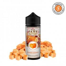 milked caramel de the cake factory es el eliquid perfecto para disfrutar en tu vapeo diario dulce y delicioso