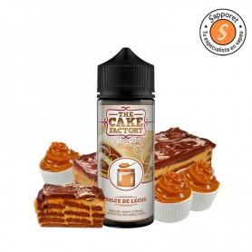 dulce de leche 100ml de the cake factory es el mejor líquido para vapear de dulce de leche para disfrutar en tu vapeo diario