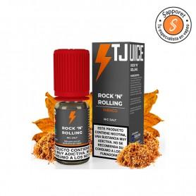 rock n rolliong es un clásico sabor de tabaco virginia amaderado para disfrutar en tu pod favorito.