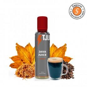 Java Juice es la mejor mezcla de tabaco con cafe de T Juice para que disfrutes de tu mejor rutina diaria