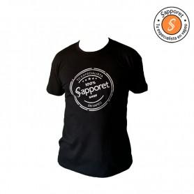 nuevas camisetas con logo renovado de Sapporet. Sentiros como un verdadero especialista en vapeo.