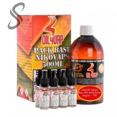 OIL4VAP - Base VPG 20PG/80VG - 500ml 3mg/ml - TPD