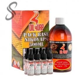 OIL4VAP - Base VPG 50PG/50VG - 500ml 1,5mg/ml - TPD