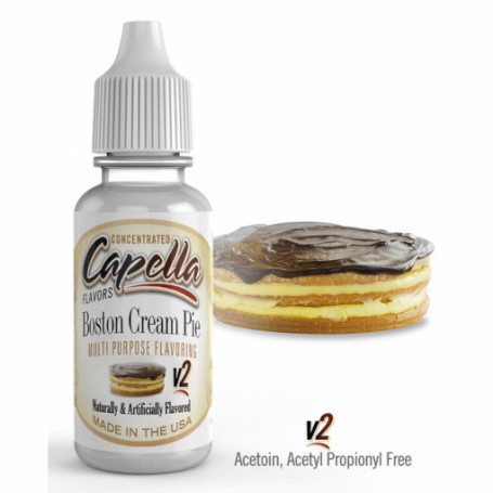 Capella - Aroma Boston Cream v2 13ml