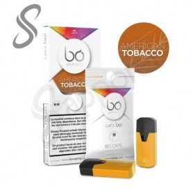 Bo Vaping - 2 Caps American Tobacco