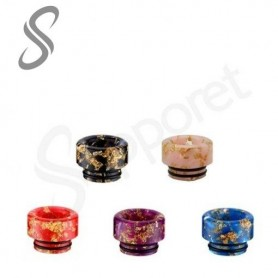 Drip Tip 810 Sailing Floral Epoxy Resin