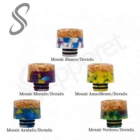 Drip Tip Epoxi Resin Mosaic 810 - Reewape