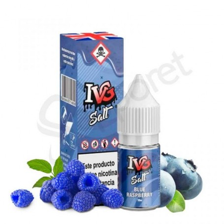 IVG Salts - Blue Raspberry 10ml - 20mg/ml