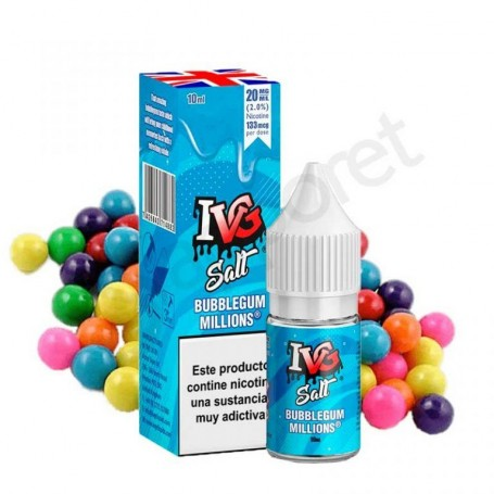 IVG Salts - Bubblegum 10ml - 20mg/ml