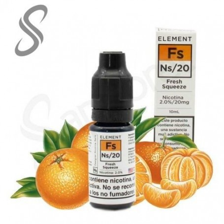 Fresh Squeeze 10ml – 20mg - Element e-Liquid