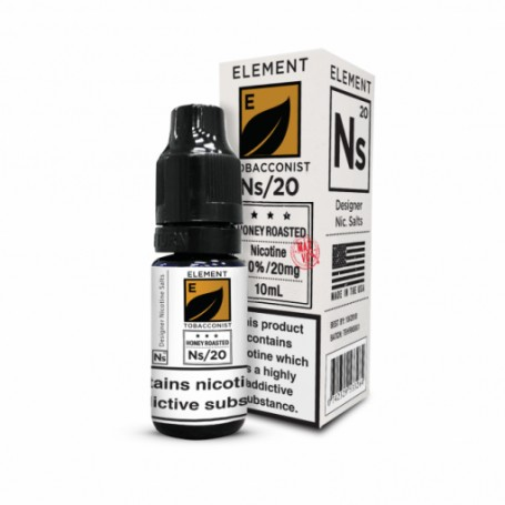 Honey Roasted Tobacco 10ml - 20mg - Element e-Liquid
