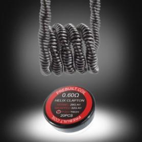 Fumytech - Resistencia prefabricada Helix Clapton 0,60Ω 28AWG+32AWG (20uds)