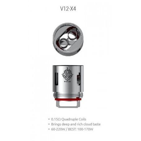 Resistencia Smok TFV12 V12-X4