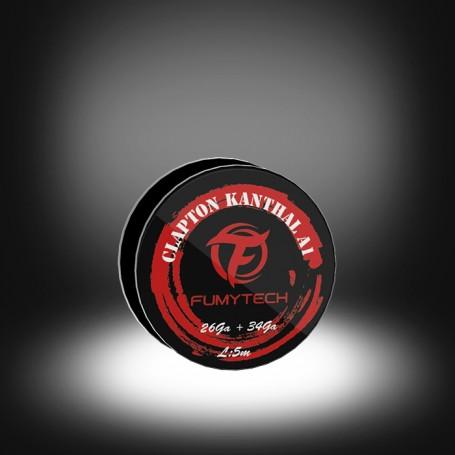 Fumytech - Hilo Clapton de Kanthal-A1 0.40mm / 0.20mm - 26AWG / 34AWG (resistivo) ~5m