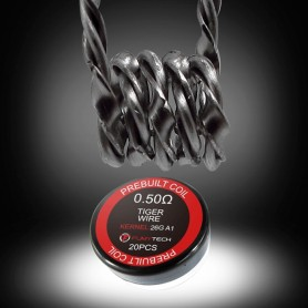 Fumytech - Resistencia prefabricada tiger 0.5Ω 26AWG (20uds)
