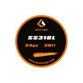 Geekvape - Hilo SS316L 24ga ~9m