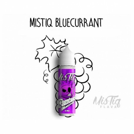 Bluecurrant 50ml - Mistiq Flava