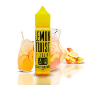 Peach Blossom Lemonade 50ml TPD - Lemon Twist E-Liquid.