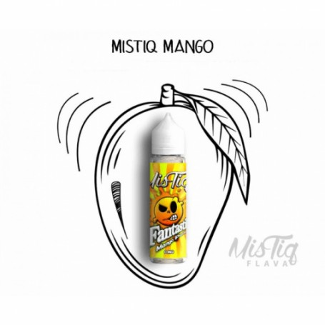 Fantastic Mango Passion 50ml - Mistiq Flava